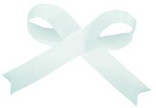 Blue Acetate Satin Ribbon