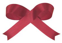 Burgundy Acetate Satin Ribbon