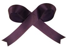Navy Acetate Satin Ribbon