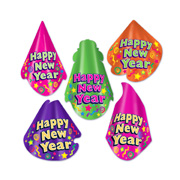 Happy New Year Hats- Assorted