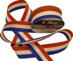 "Patriotic Stripe GrosGrain Ribbon 1 1/2"""