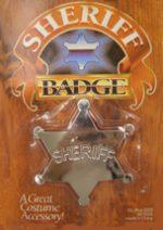 Metal Sheriff Badge