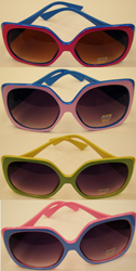 Duo Color 80's Sunglasses