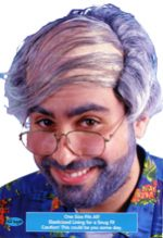 Bald Comb Over Wig