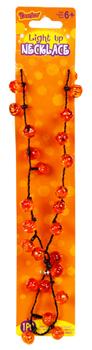 Light-Up 3 Function Mini Jack_O_Lantern Necklace