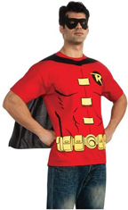 Robin T-Shirt w/ Cape & Mask