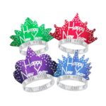 Happy New Year Sparkling Tiaras