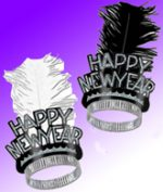 Feathered New Years Tiara