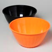 Round Plastic Serving Bowl - Assorted