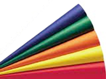 Primary Color Tissue Paper - 10 Sheets