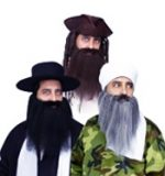 Costume Character Crimped Beards