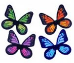 Costume Childs Satin Butterfly Wings