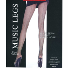 plus size black fishnet panty hose