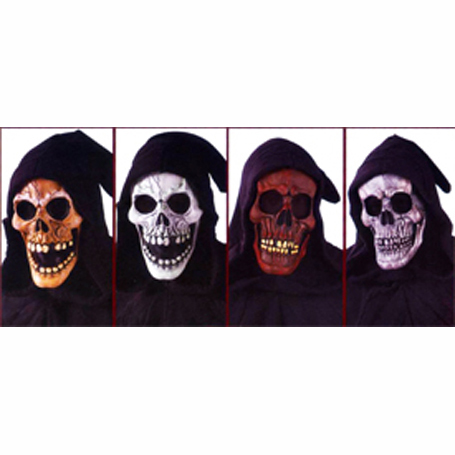 shrouded skull masks
