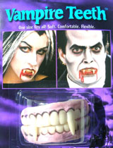Rubber Vampire Teeth
