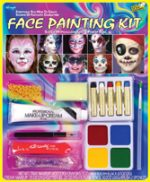 Face paint make up kit Theater Costume foundation pencil sponge