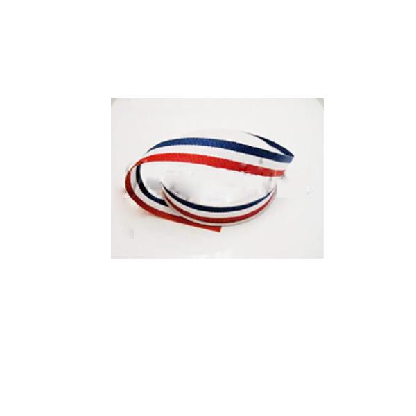 Red White Blue Grosgrain Ribbon