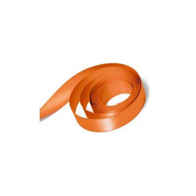 Orange Double Faced Satin Ribbon