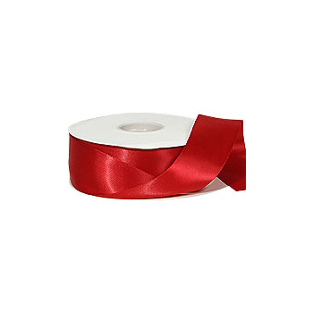 Red Double-Face Satin Ribbon