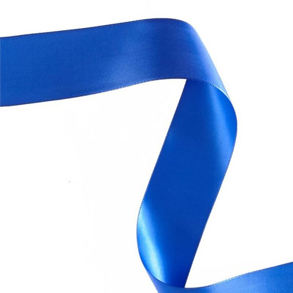 Royal Blue Double Face Satin Ribbon