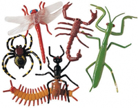 Rubber Insects