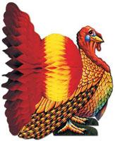 """12"""" Tissue Turkey Centerpiece"""