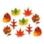 Mini Fall Leaves Cutouts