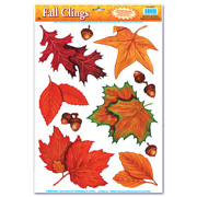Fall Leaves Cling Sheets