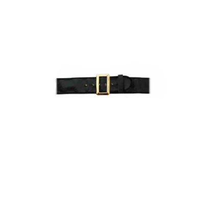Black Naugahyde Santa Belt 3XL