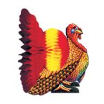 "9"" Turkey Centerpiece - Freestanding"