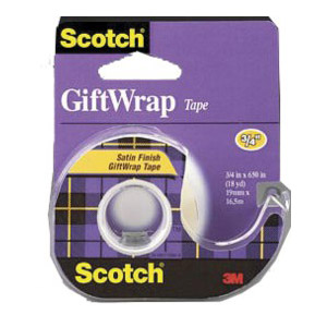 Scotch Gift Wrap Tape