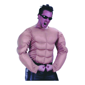 Muscle Man costume shirt