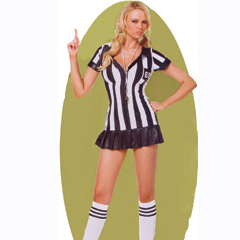 Ladies Sexy Referee Costume