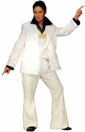 White Disco Fever Suit