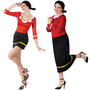 Olive Oyl Standard and Plus Size
