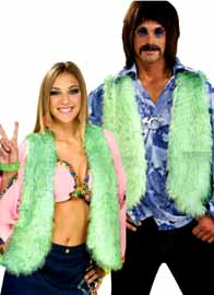 Groovy Green Vest
