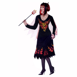 Devil of Darkness Ladies Costume