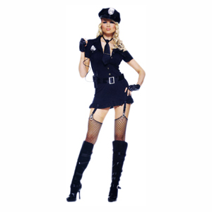 Dirty Cop Sexy Ladies Halloween Costume
