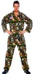 Army Jumpsuit Camouflage Outfit