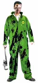 Bad Planning Green Oil Covered Jumpsuit