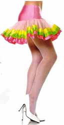 Petticoat -  Pink, Yellow and Green