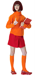 Velma Halloween Outfit from Scooby Doo