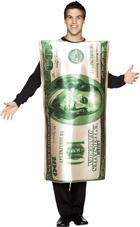 One Hundred Dollar Bill Costume