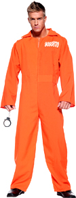 Orange Prison Jumpsuit