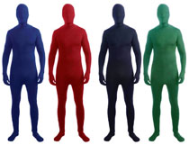 Disappeariing Man Costume - Assorted Colors
