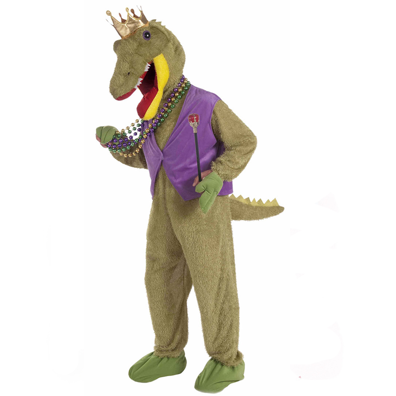 Alligator King Mardi Gras Costume