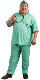 Doctor Plus Size Costume