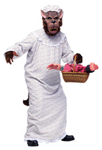 Wolf - Big Bad Granny Costume