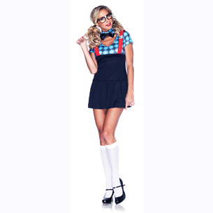 Ladies Naughty Nerd Costume