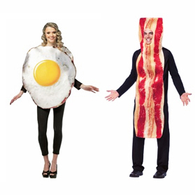 Bacon and Egg costumes